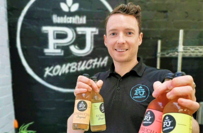 Interview with Patrick O'Connor – producer of Organic Kitchen Kombucha and owner of PJ Kombucha