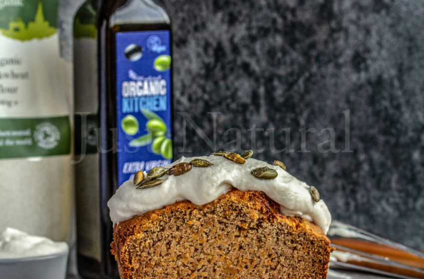 Date-Sweet Carrot Loaf Cake